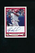 2005 Upper Deck Origins #HO1 Ryan Howard Auto Philadelphia Phillies