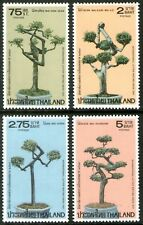 Thailand 1981 Int Correspondence Week-Dwarf Trees set of 4 Mint Unhinged