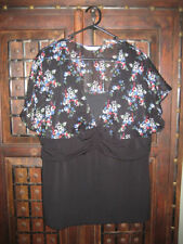 Crossroads Machine Washable Floral Plus Size Tops for Women