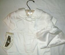 LITTLE THINGS MEAN A LOT,  6 MONTH CHRISTENING OUTFIT ALL WHITE WITH HAT