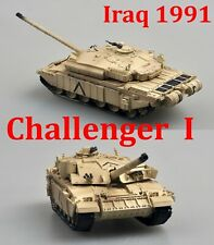 Easy Model 1/72 British Challenger I, Iraq 1991 Plastic Tank Model #35106