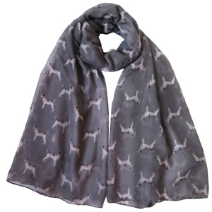 BORDER TERRIER LADIES SCARF NEW TO RANGE LOVELY GIFT FAST DISPATCH