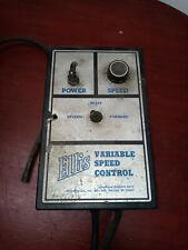 Ellis Variable Speed Motor Controller With Minarik 170 0393 Rev 8