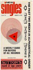 Madness B-52's Brood Fischer-Z Lewis Poco Rafferty Roxy Music Shirts War 2 Guide