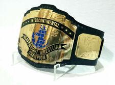 WWF Intercontinental Championship Belt Adult Size Gold Plated