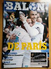 PSG Paris Saint Germain v Real Madrid PROGRAMME 06.3.2018 Champions League UEFA