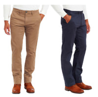 Jachs New York Men's Flannel Lined Chino Pant Slim Straight Leg VARIETY OF E21