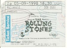 RARE / TICKET CONCERT - THE ROLLING STONES : LIVE A LA HAYE ( NETHERLANDS ) 1998