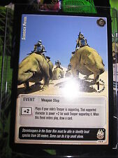 STAR WARS CCG JEDI KNIGHTS CARD MINT/N-MINT RARE 1ST DAY DEWBACK PATROL 116 R