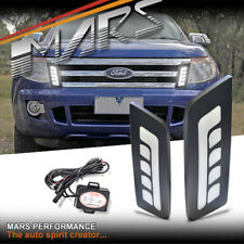 MARS Front Grille Grill Mesh LED DRL Lights for FORD Ranger PX MK1 11-15