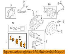 SUBARU OEM 10-14 Legacy Brake-Rear Pads 26696XA011