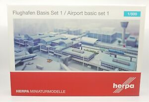 Herpa Wings 520362, Airport Basic Set 1 Assembly Kit, 1:500