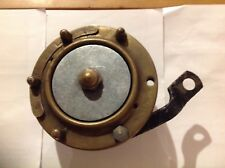 Vintage Pre War Motorcycle Brass Lucas Altette Horn AJS BSA Norton Ariel