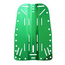 Scuba Choice Tech Diving Aluminum Backplate, Green