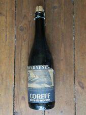 Bouteille bière COREFF Festival Douarnenez 1986 jamais ouverte traditional sail