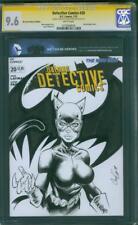 Batman Detective Comics 20 CGC SS 9.8 Catwoman Original art sketch 2013 Wedding