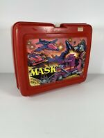1985 M.A.S.K Mask Plastic Lunch Box (NO THERMOS) Vintage Lunchtime