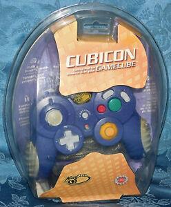 Mad Catz Nintendo GameCube Cubicon MACRO Controller Indigo Purple Madcatz NEW