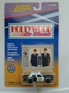 Johnny Lightning 1:64 Hollywood On Wheels Blues Brothers Ford Canine Police Car