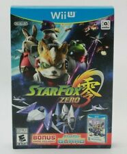 Star Fox Zero (Nintendo Wii U, 2016) Bonus StarFox Guard Brand New Sealed
