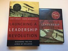 Launching a Leadership Revolution by Chris Brady and Orrin Woodward Book & 4 CDs