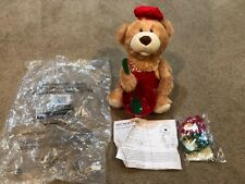 Holly The Recipe Bear Talking Motion Sound Cookie Recipe Bear Avon New 2013