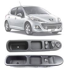 Interrupteur commande leve vitre avec cadre (2 pièces) Peugeot 207 2007-2015