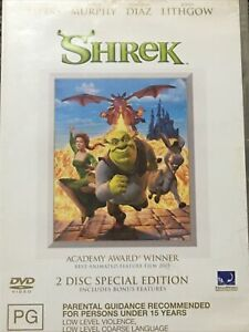 Shrek Double Disc Set Special Edition Region 2 4 TRACKED POST