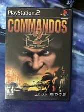 Commandos 2: Men of Courage (Sony PlayStation 2, 2002) PS2 Complete