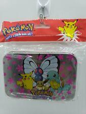 Vintage Pokemon Mini Tin Nintendo 1998 trading card holder decorative container