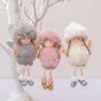 Plush Angel Christmas Tree Decoration Cute Doll Gift Pendants Hanging Ornaments