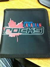 MOLSON CANADIAN ROCKS PROMOTIONAL CD/DVD HOLDER HOLDS THREE CD/DVD'S