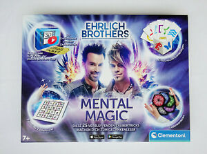 Clementoni Ehrlich Brothers Mental Magic Zauberkasten Kinder zaubern