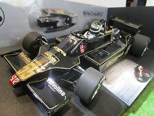 F1 LOTUS FORD 79 JARIER #55 GP CANADA 1978 o 1/18 MINICHAMPS 100780055 formule 1