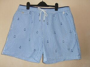 Mens Ralph Lauren Nautical Swim Shorts Size XXL BNWT