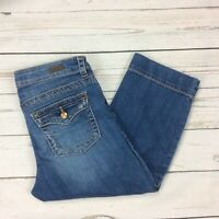 Kut From The Kloth Jeans Size 6 Womens Natalie Crop Capris Denim Stretch