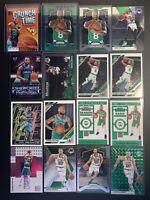 2019-20 Celtics LOT Green Kemba Walker Prizm, Green Mosaic Gordon Hayward & More