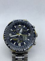 Citizen Promaster Skyhawk Blue Angels Atomic Steel Watch JY8078-52L ☄️⌚️with Box