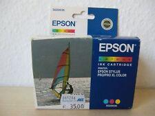 Original Epson Druckerpatrone Farbe C,M,Y / Tintenstrahldrucker Drucker S020036