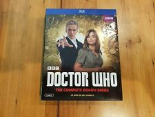 Doctor Who: The Complete Eighth Series (Blu-ray Disc, 2014, 4-Disc Set), Nice!