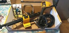 Boxed Garrett Ace 250 Metal Detector with headphones and coil cover