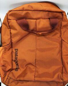 Patagonia ALL Backpack / Computer Bag Rust NWOT