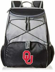 Picnic Time PICNIC TIME NCAA Oklahoma Sooners PTX Insulated Backpack Cooler, ...