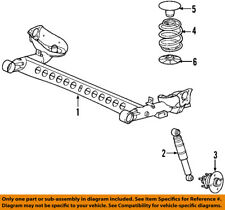 Chevrolet GM OEM 06-11 HHR Rear Suspension-Coil Spring 22712222