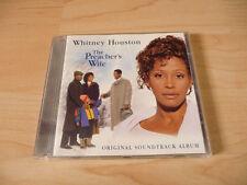 CD Soundtrack The Preacher`s Wife - 1996 - Whitney Houston