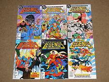 DC - LEGENDS 1 - 6 Complete Series!! Glossy VF+ Suicide Squad! 1987