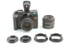 【Mint】 Bronica RF645 + Zenzanon RF 45mm w/ Finder + 65mm Lens + Hood From JAPAN