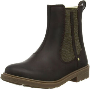 Clarks ASTROL ORIN Girls Brown Leather Zip Winter Boots 11 - 2 F Fit NEW BOXED