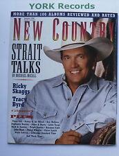 NEW COUNTRY MAGAZINE - January 1996 - George Strait / Ricky Skaggs / Tracy Byrd