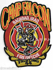 """Iraq - Camp Falcon  """"Fighting 44"""", Baghdad (3.5"""" x 4.25"""" size) fire patch"""